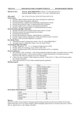ders uygulama belgesı 2014