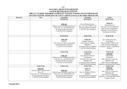 Organ ve Doku Koordinatörlüğü Eğitim Yüksek Lisans Programı