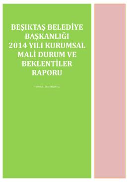 2014 Mali Durum ve Beklentiler Raporu