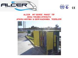 Ürün Broşürü - Alcer Makina