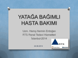 Uz. Hemşire Nermin ERDOĞAN - İstanbul İl Sağlık Müdürlüğü