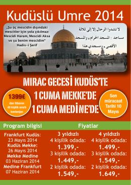 Kudüslü Umre 2014