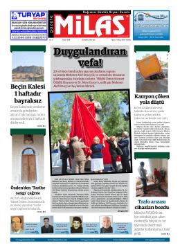 16.07.2014 sal  - Milas Medya Arşivi