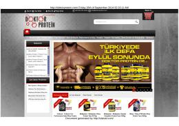 Doktor Protein Sporcu Gıdaları | Protein Tozu - Amino