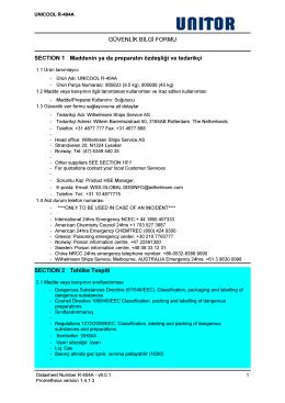 refrıgerant r-404a - Wilh. Wilhelmsen Group