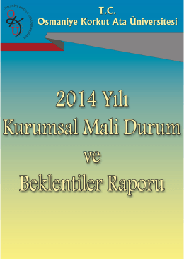 2014 Yılı Mali Durum ve Beklentiler Raporu