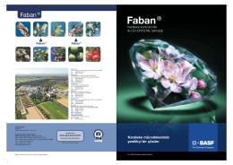 Faban ® Broşür