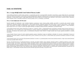 Fasıl 18: İstatistik - KKTC Başbakanlık Avrupa Birliği Koordinasyon