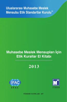 Etik Kurallar - Türkiye Muhasebe Uzmanları Derneği