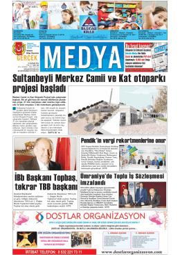 Sultanbeyli Merkez Camii ve Kat otoparkı projesi başladı