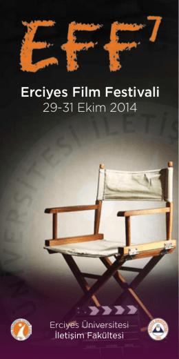 Festival Broşürü - Erciyes Film Festivali
