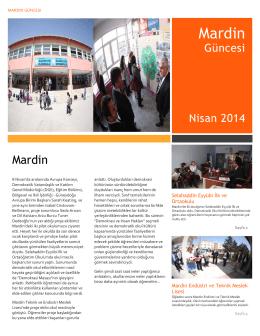 Mardin Güncesi