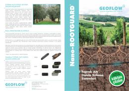 Geoflow Broşür Türkçe
