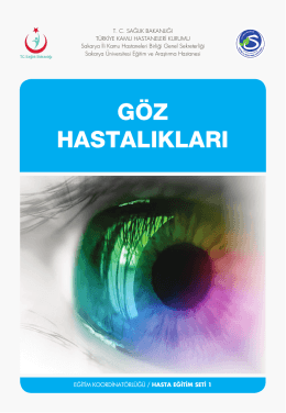 göz hastalıkları - Sakarya Eğitim ve Araştırma Hastanesi