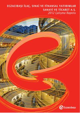 2012 YK Faaliyet Raporu - Yıllık