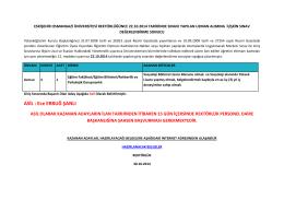 ASİL : Ece ERBUĞ ŞANLI - Osmangazi Üniversitesi