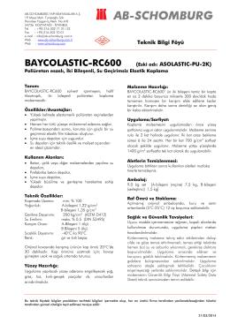 BAYCOLASTIC-RC600 (Eski adı: ASOLASTIC-PU-2K) - ab