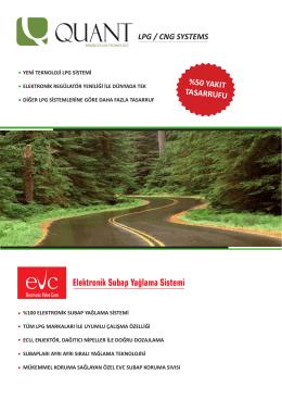 katalog için tıklayınız - EVC Subap Yağlama Sistemleri
