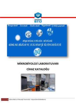 Mikrobiyoloji Laboratuvarı - Biyomühendislik