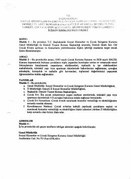 denizli barosu başkanlığı ile shcek arasında işbirliği protokolü