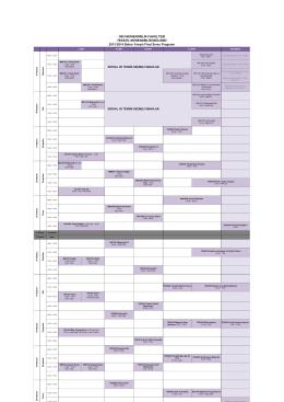 2013-14 Bahar dönemi Final ve Bütünleme Sınav programı için