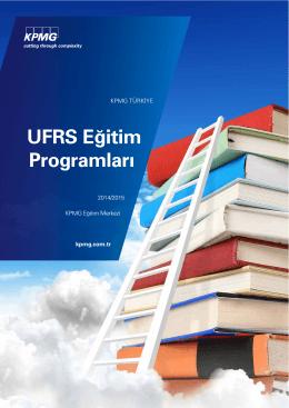 UFRS Eğitim Programları (PDF 188KB)