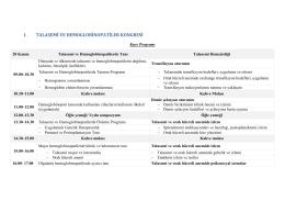 ı. talasemi ve hemoglobinopatiler kongresi