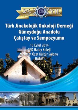 Türk Jinekolojik Onkoloji Derneği Güneydoğu Anadolu Çalıştay ve
