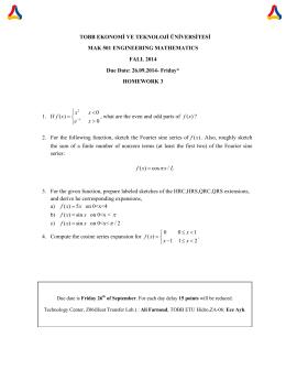 Homework 3 - TOBB Ekonomi ve Teknoloji Üniversitesi