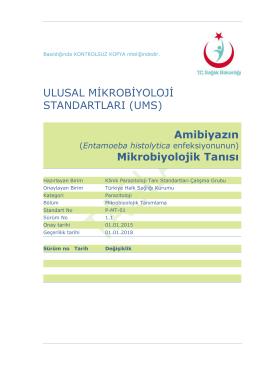 Amibiyaz - Türkiye Halk Sağlığı Kurumu