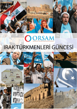 Türkmen Güncesi 16-31 Ocak 2014