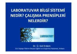 Laboratuvar bilgi sistemi nedir?