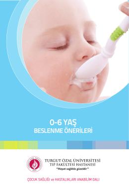 0-6 YAŞ - Turgut Özal Üniversitesi Hastanesi
