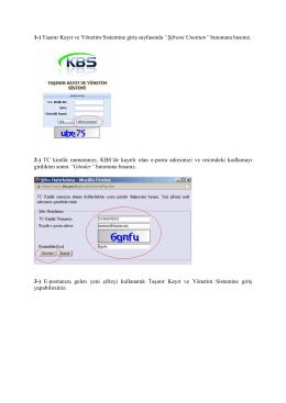 KBS Şifre Yenileme