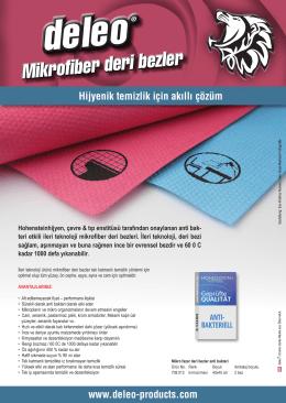Mikrofiber deri bezler - deleo® Abflussreiniger