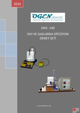okg -140 sıvı ve gazlarda difüzyon deney seti 2014
