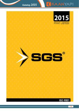 SGS - Kaan Yapı Malzemeleri