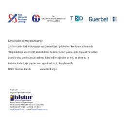 25 Ekim 2014 tarihinde Gaziantep Üniversitesi Tıp Fakültesi