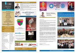 Sayı 8 - Adana Rotary Kulübü