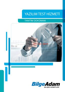 yazılım test hizmeti
