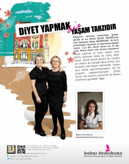 MAG Dergisi - Ocak 2013 DİYET YAPMAK BİR