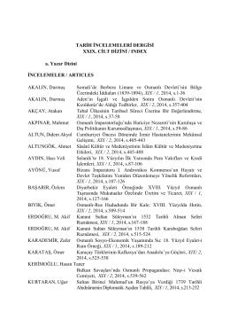 Dizin/İndeks, s. 675-686.