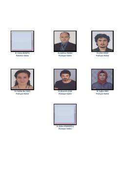 Dr.Habibe Nur AÇICI Pratisyen Hekim Dr.Mustafa ÇELİK Pratisyen