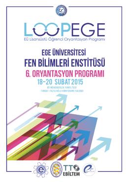 2014-2015 Bahar dönemi 6. Oryantasyon Programı