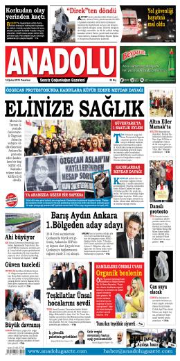 Ders oluyor! - Anadolu Gazete