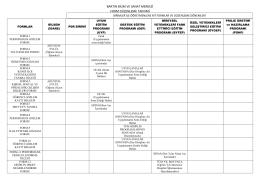 bartın bilim ve sanat merkezi form düzenleme takvimi