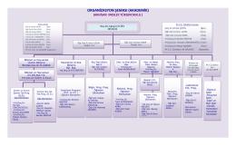 organizasyon şeması - Akhisar Meslek Yüksekokulu
