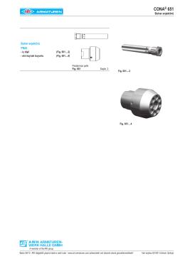 CONA® 651 - ARI Armaturen