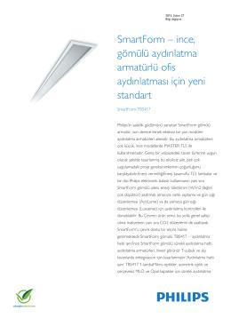 Product Familiy Leaflet: SmartForm TBS417
