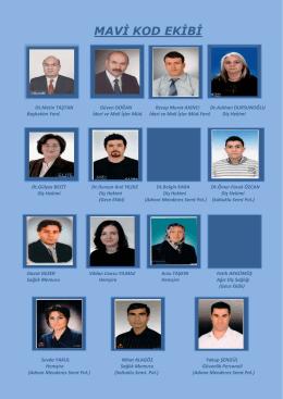 MAVİ KOD EKİBİ - Erzurum Ağız ve Diş Sağlığı Merkezi
